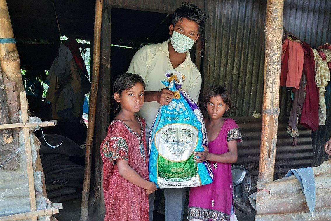 sos india comunità aiuti umanitari