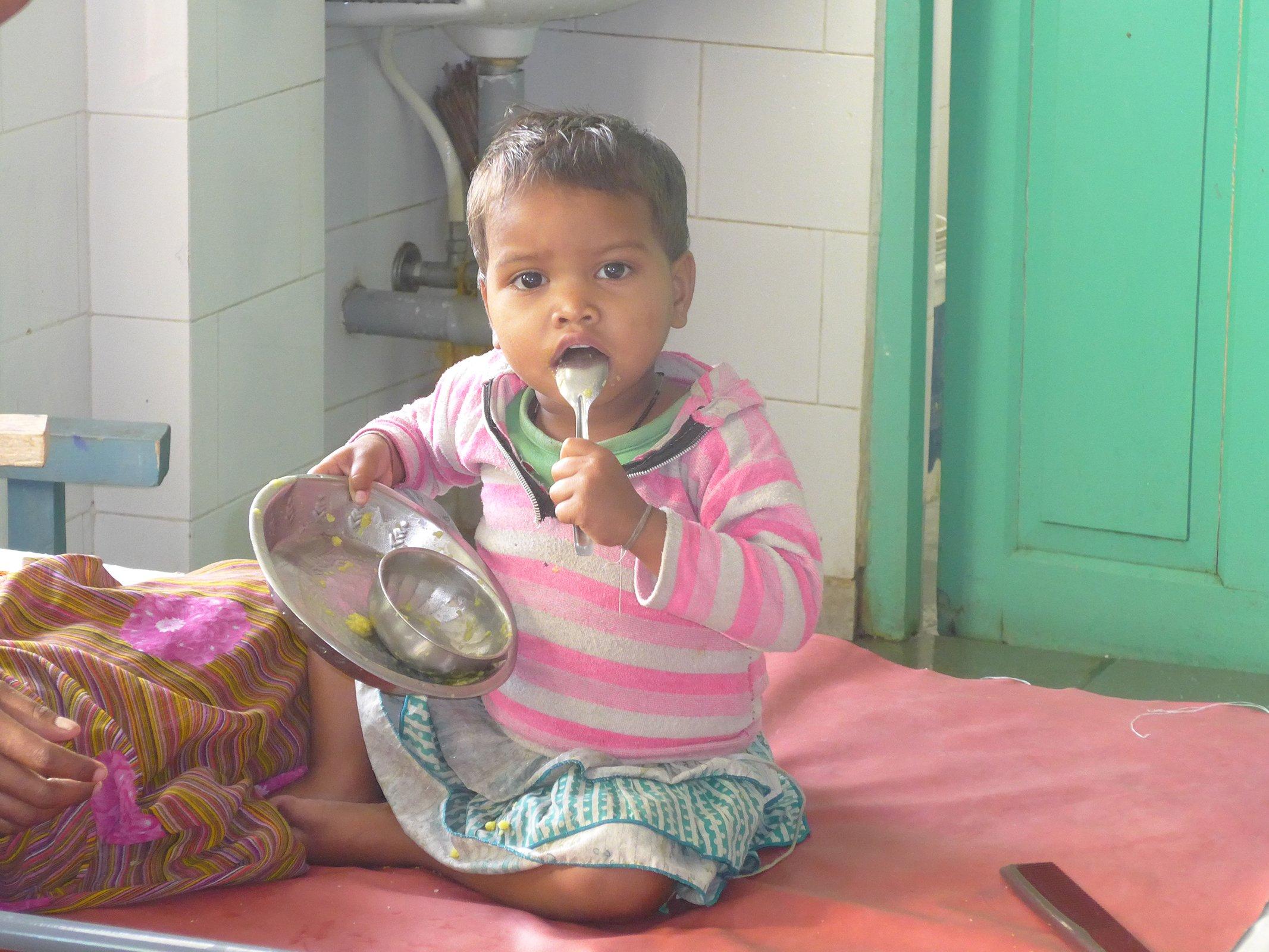 aiuti umanitari in india